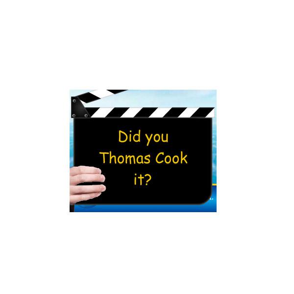 Thomas Cook Clapper Board