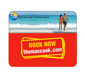 Thomas Cook Sticker Banner