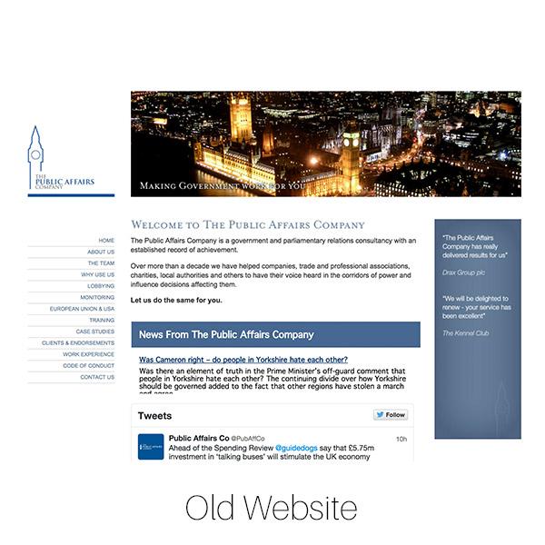 PAC website