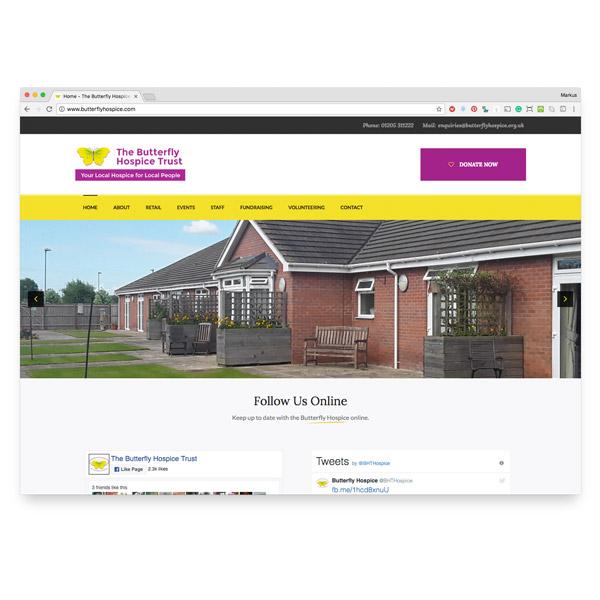 Butterfly Hospice Website