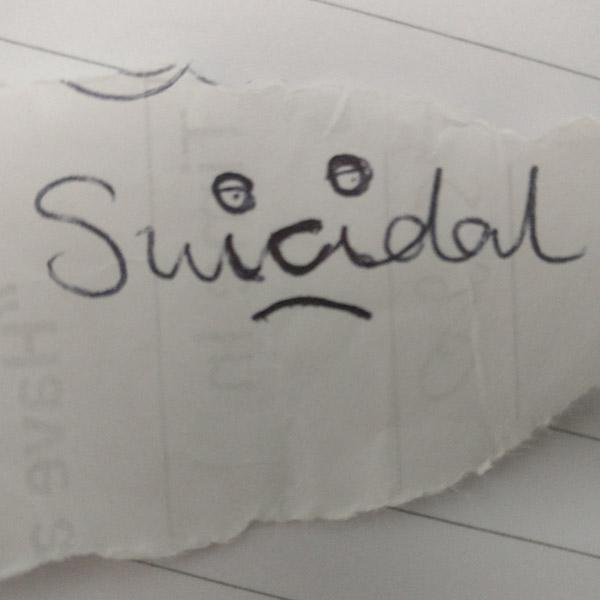 Suicidal? Visual Identity